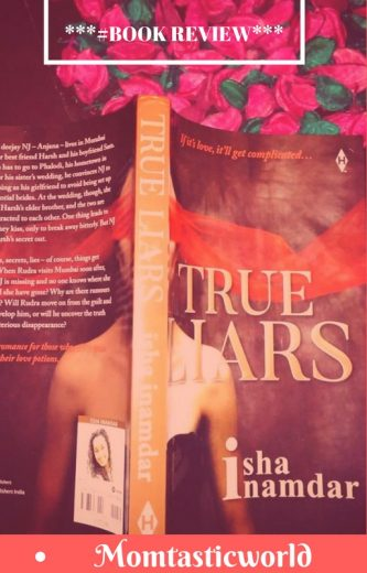 Book cover, True Liars