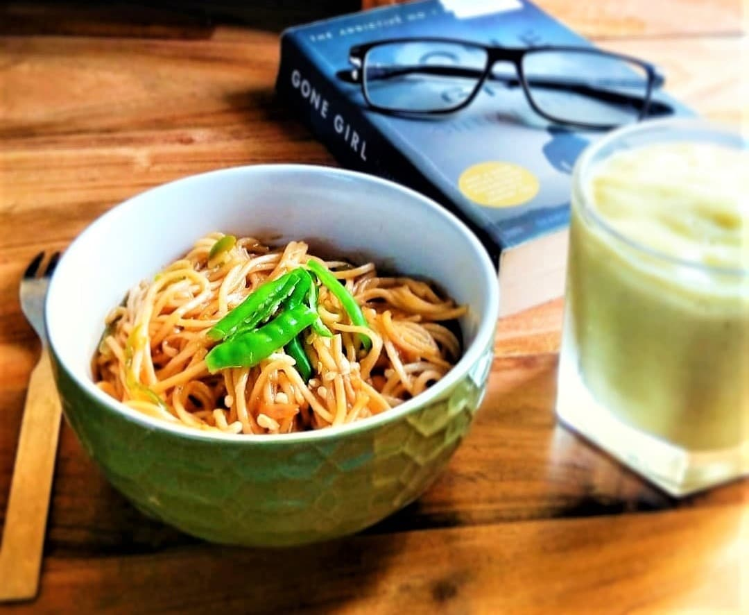 #recipe Noodles With Desi Flavor