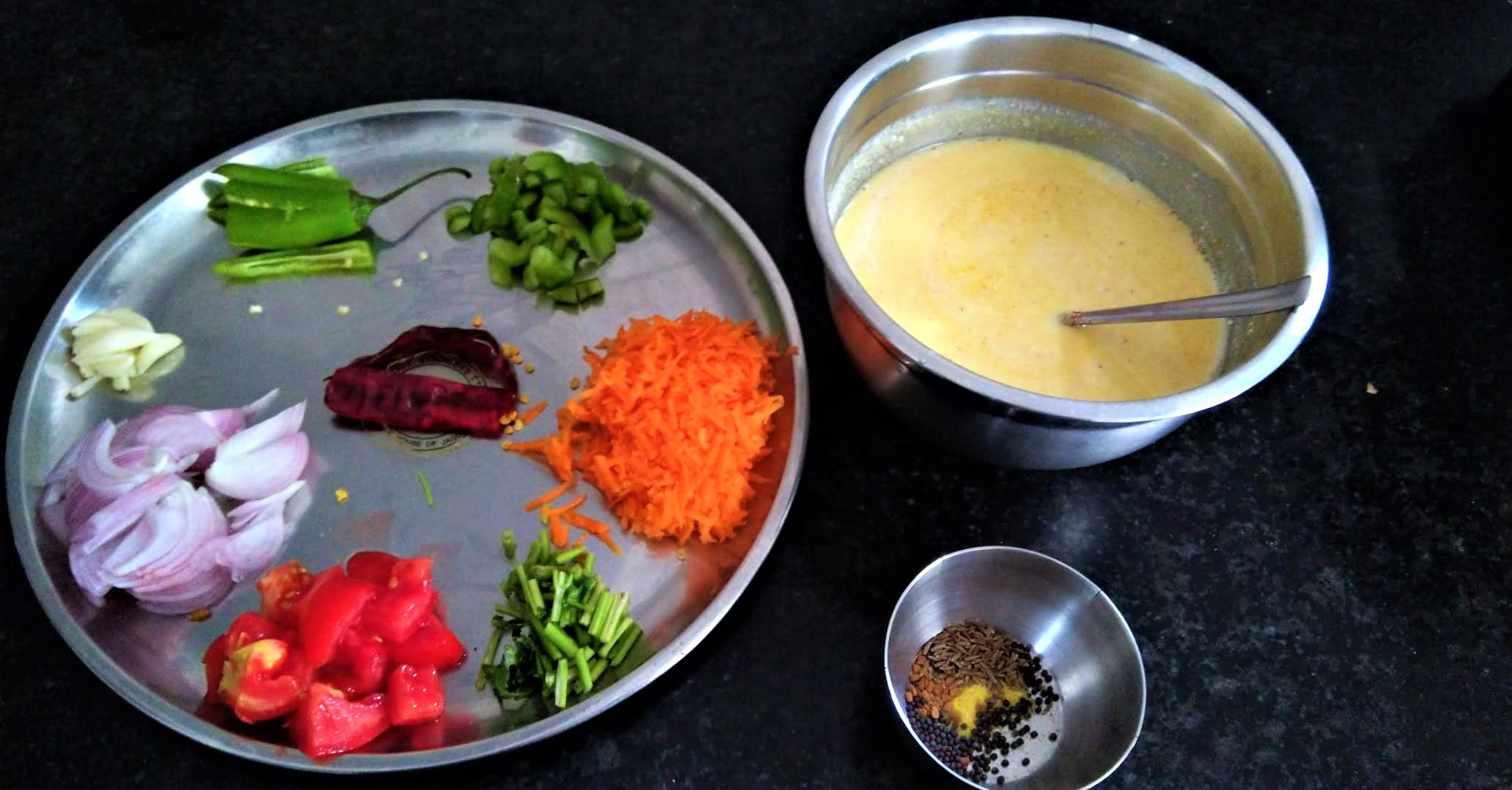 Kadhi, Lunch